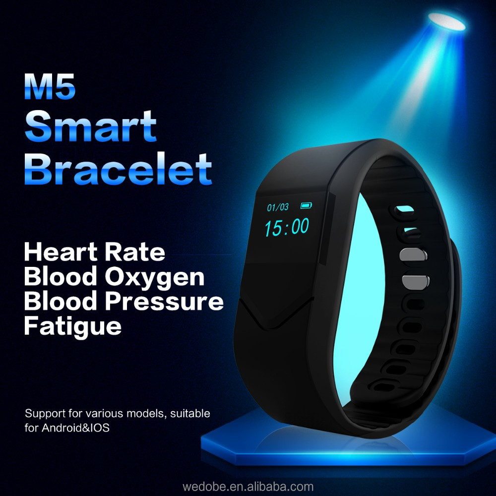 2017 new arrival fitness band with blood pressure monitoring