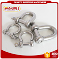 Stainless Steel 304 Screw Pin Anchor Shackle