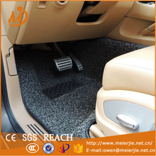 PVC fashion and soft car mat carpet in roll with spike backing can be easy cut for pieces