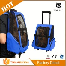 Hot China Products Wholesale pet carrier on wheels