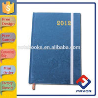 leather promotion gift customized leather work diary covers
