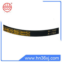 Rubber material classical A800 v-belts for machine transmission system