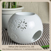 Ceramic Fragrance Oil Diffuser Warmer Burner Aromatherapy and Fragrance White Light Holder