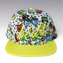 Kids animal snapback hat