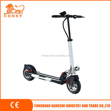 ES1001 10inch wheel 350w 36v 10.4ah electric scooter moped