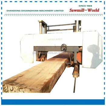 Large Size Horizontal Band Saw Wood Saw Machine