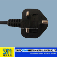 High quality 5A British standard power extension cord