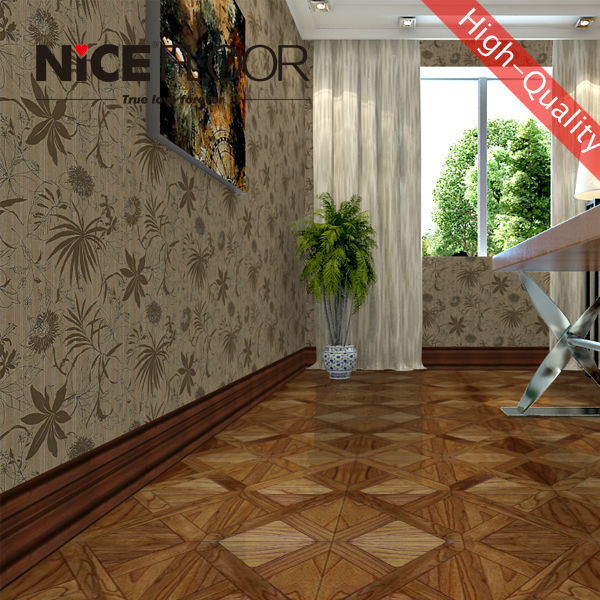 class 33 AC4 high shiny piano surface laminate flooring best price hdf parquet floor
