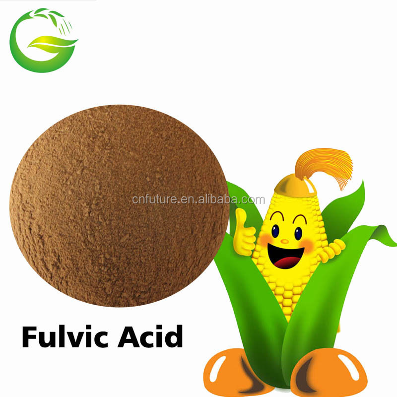 Water soluble organic fertilizer fulvic acid powder 80%