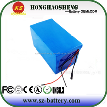 24v lithium ion polymer Rechargeable 24v 10ah Battery pack with PCM/charger