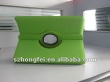 New rotary leather case for ipad3 hot tablets pc accessory