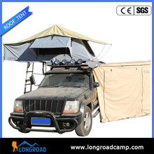 Off road Camper 7ft trailer top awning tent