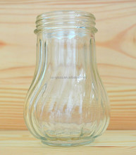 Salt pepper glass bottle peanut storage glass bottle