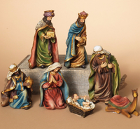 Hand Crafted christmas Nativity Scene