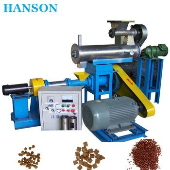 Floating and Sinking Fish Feed Pellet Making Machine Supplier