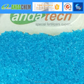balanced type water soluble fertilizer npk 20 20 20+TE blue and colorful