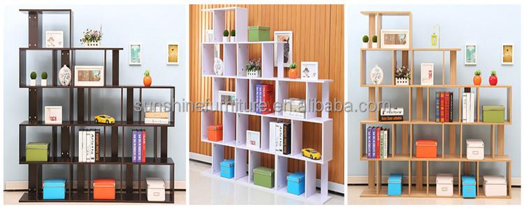 2015 Modern Design Wooden Small Bookcase / Book Rack ...