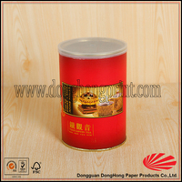 China supplier paper wrapping food packaging jar