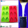 silicone rubber ice mold with hearth-shaped