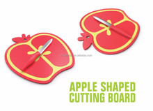Fruit shaped chooping board plastic chopping blocks