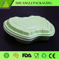 disposable takeaway food tray