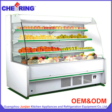 vegetable showcase used vegetable cooler commercial refrigerator cabinet