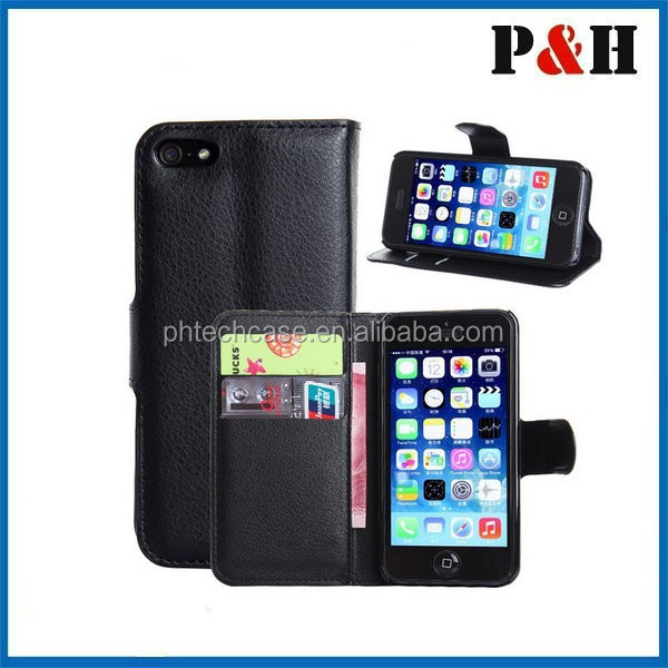 Leather Flip Cover For iPhone 6 Wallet Case