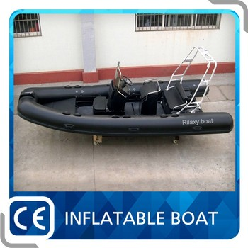 CE Certification 5.2m Rigid Inflatable Rubber Motor Boat
