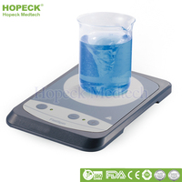 Slip-proof and Stable FlatSpin Ultra-flat Compact Laboratory Mini Magnetic Stirrer for Analysis & Biotech Labs