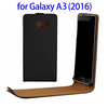 Vertical Flip Cover for Samsung Galaxy A3 2016 Smartphone, Mobile Phone Accessories Flip Case for Galaxy A3