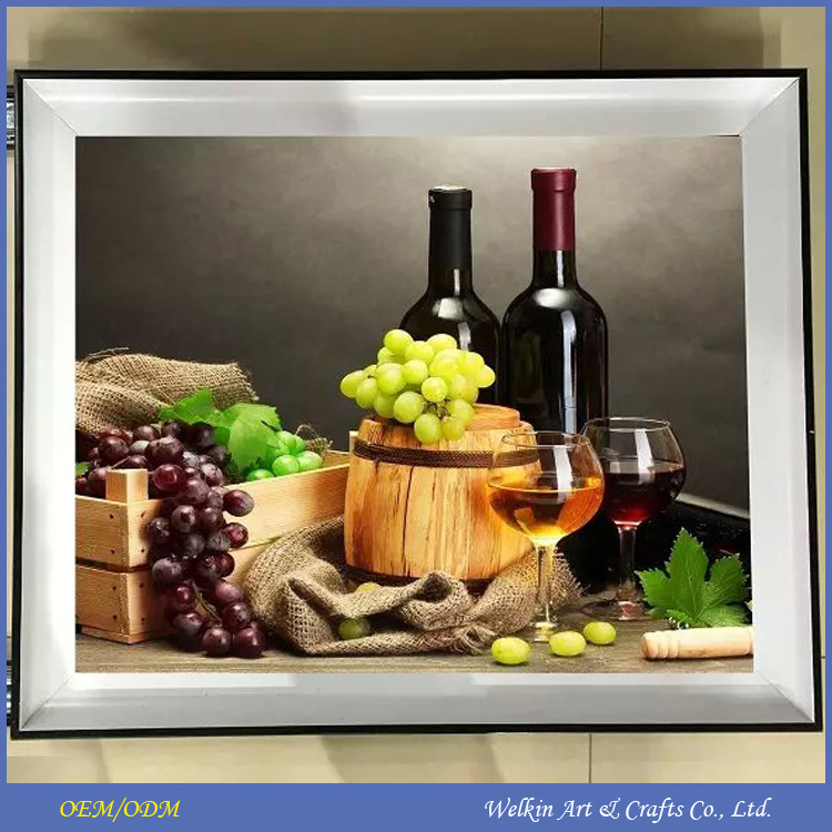 LED canvas paintings of pictures of fruits cheap factory price