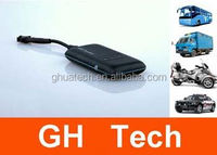 GH Car small gps tracking device G-T002 9-50V voltage no backup battery