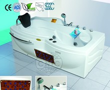 830*1600*600mm Luxury Style Clear Acrylic Massage Hot Tubs