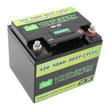 Capacity indicator BMS lifepo4 lithium battery pack 12v 50ah li-ion battery