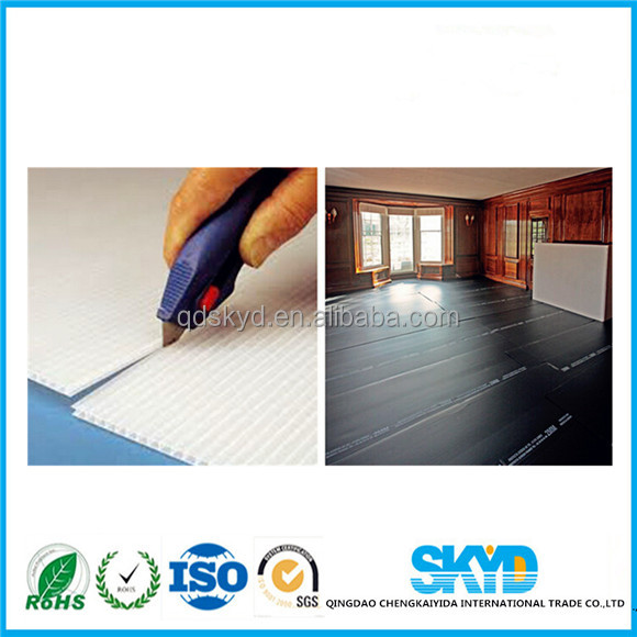 Qingdao SKYD floor protection corrugated sheet