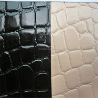 TOP quality faux crocodile skin leather for bags DG0264