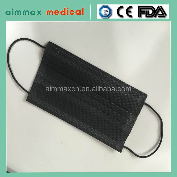 ear loop raw material face mask custom hospital mask 2017