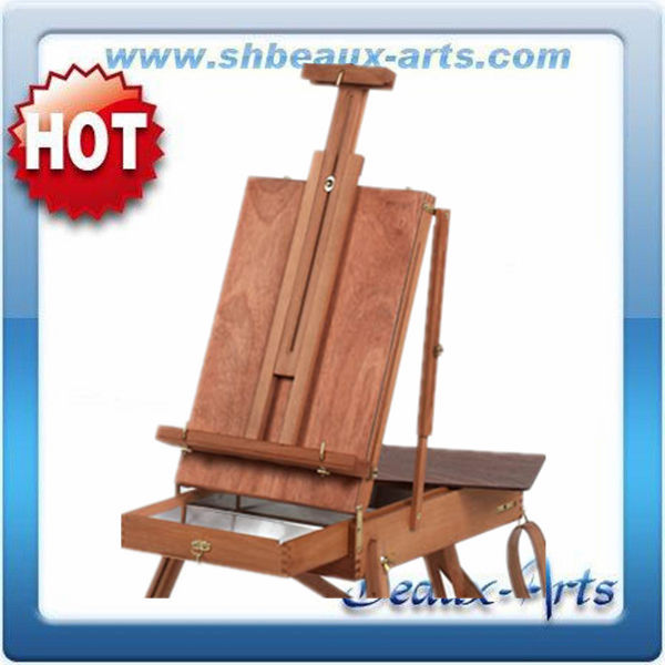 adjustable wood table french easel for painting and drawing