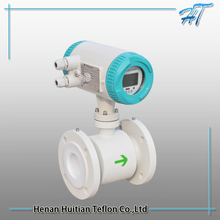 Magnetic electric basic water flow meter