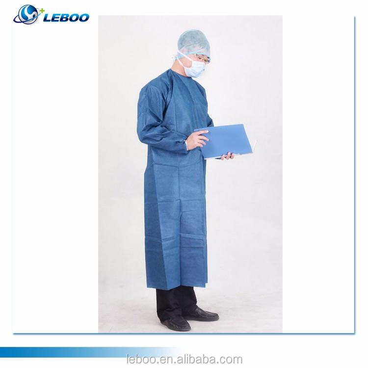 Leboo sterile disposable surgical gown
