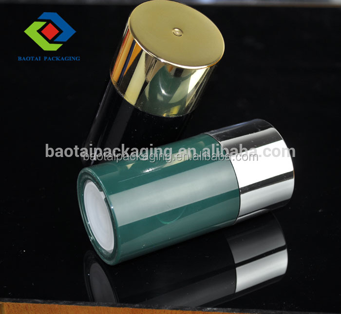 SAN material cosmetic packaging empty 50ml 75ml deodorant stick