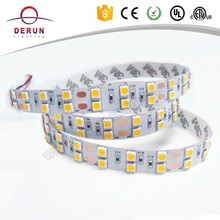 Two row pcb 15mm width 5050 flexible led strip 120led/m