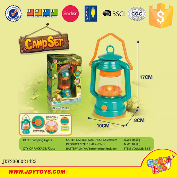 Camping Toys Product : Wholesale kids set camping lantern lights tool