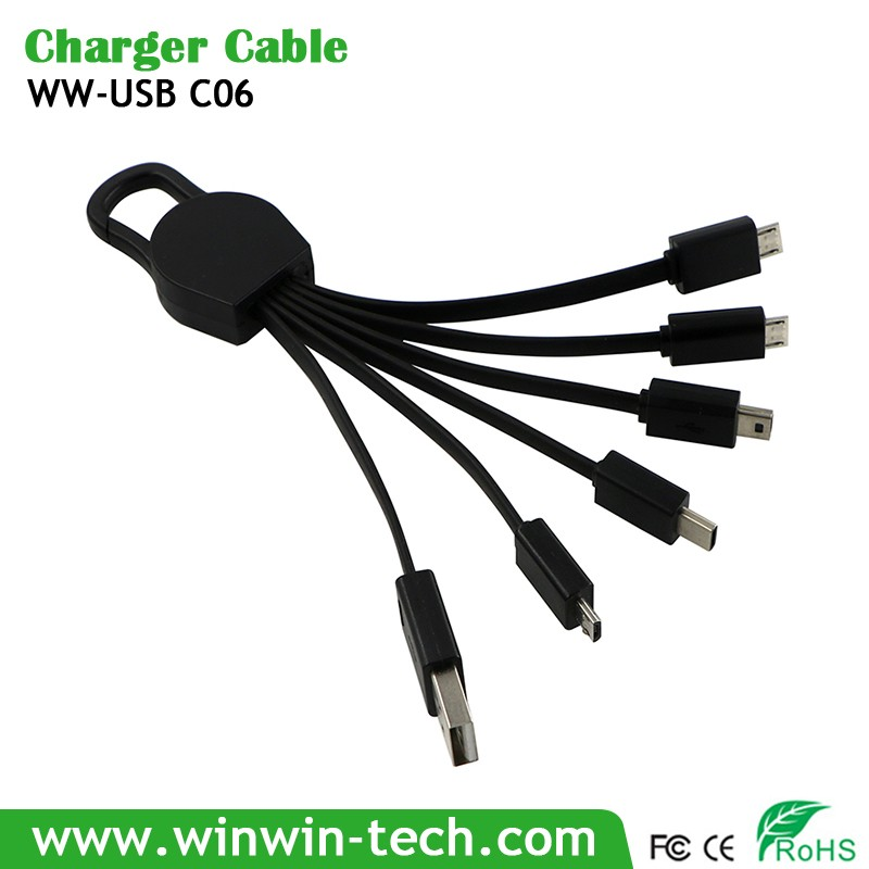 Multifunction Telescopic Folding USB Data Line Recharging Cable for Advertising Gifts & Incentives