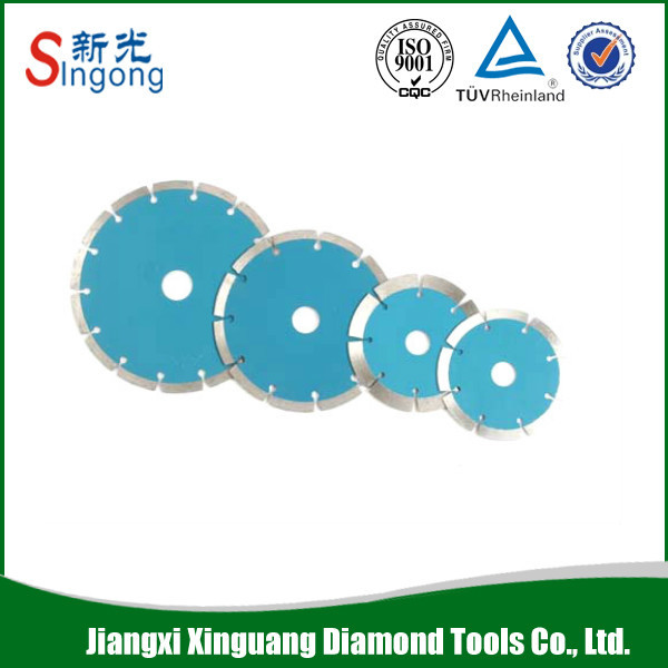 cold pressed circular diamond saw blade for cutting stainless steel/granite/marble
