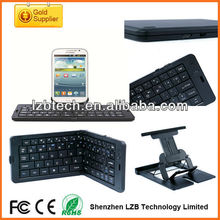 Folding wireless bluetooth keyboard for iphone/ipad/tablet