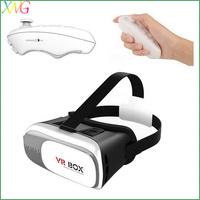 VR box 2.0 Google Cardboard Virtual Reality 3D Glasses+ Bluetooth Remote Controller