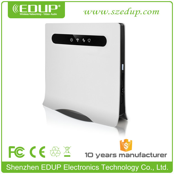 High Quality 802.11B/G/N 3G 4G Modem LET Router WiFi with SIM Card Slot