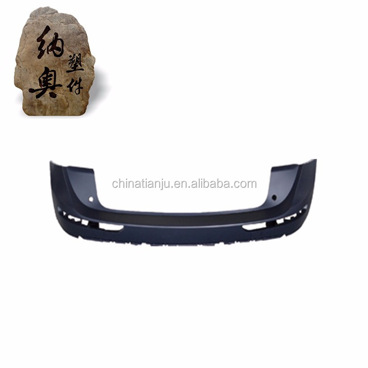 Newly car bumper auto pu rear diffuser for AUDI Q5 10-12 Factory supply
