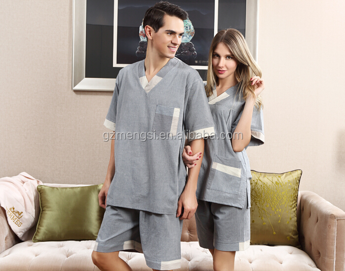 coton sauna suit/spa sauna bathrobe/Bath Sauna Robe